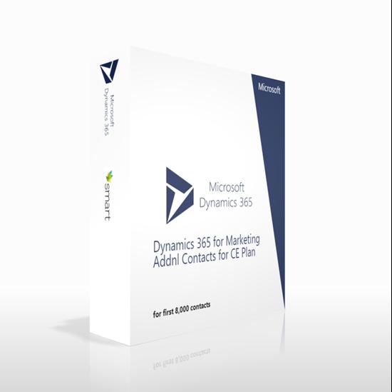 Зображення Dynamics 365 for Marketing Addnl Contacts for CE Plan