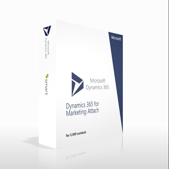 Зображення Dynamics 365 for Marketing Attach